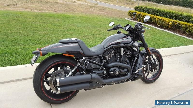 Moto Harley Davidson Vrod Vrscdx Night Rod Special Orange: Harley-davidson Night Rod VRSCF For Sale In Australia
