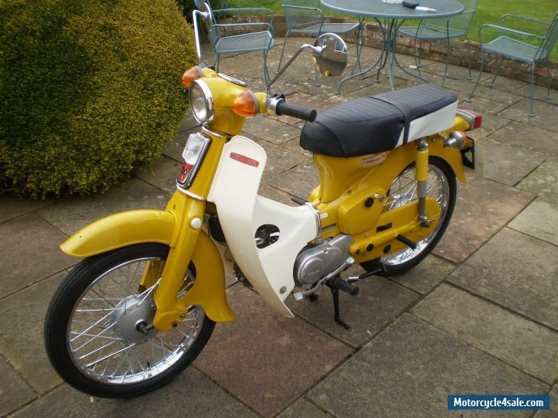 1973 Honda C70 For Sale In United Kingdom