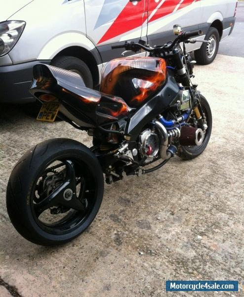 Turbo Bike Pic: YAMAHA FZR1000 Turbo Streetfighter Project Bike For Sale