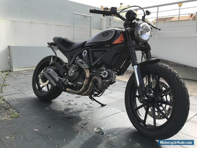 2015 ducati scrambler for sale in united kingdom