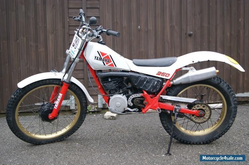 1986 yamaha ty 250 mono air cooled standard bike. Black Bedroom Furniture Sets. Home Design Ideas