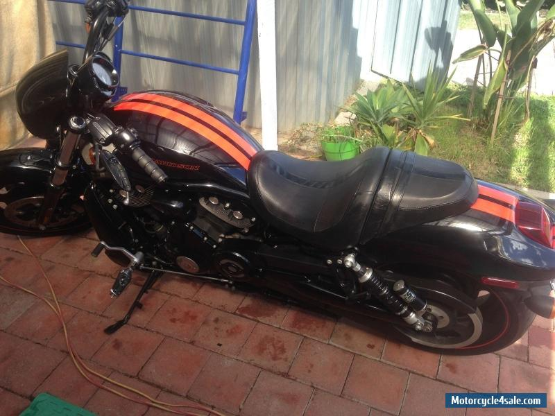 Moto Harley Davidson Vrod Vrscdx Night Rod Special Orange: Harley-davidson VRSCDX Special For Sale In Australia