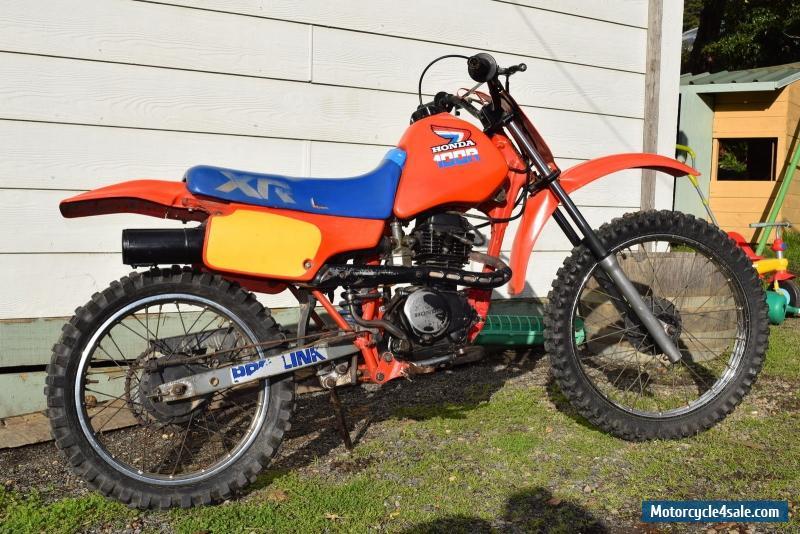 Honda Xr 100r For Sale In Australia