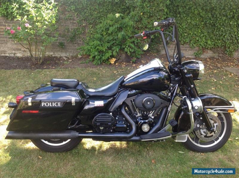 harley davidson 2010 police road king for sale in united kingdom. Black Bedroom Furniture Sets. Home Design Ideas
