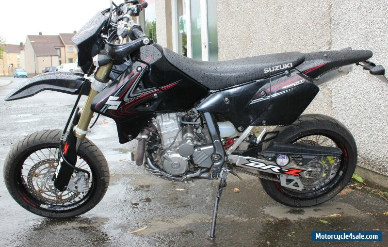 2007 suzuki drz 400 sm k7 for sale in united kingdom. Black Bedroom Furniture Sets. Home Design Ideas