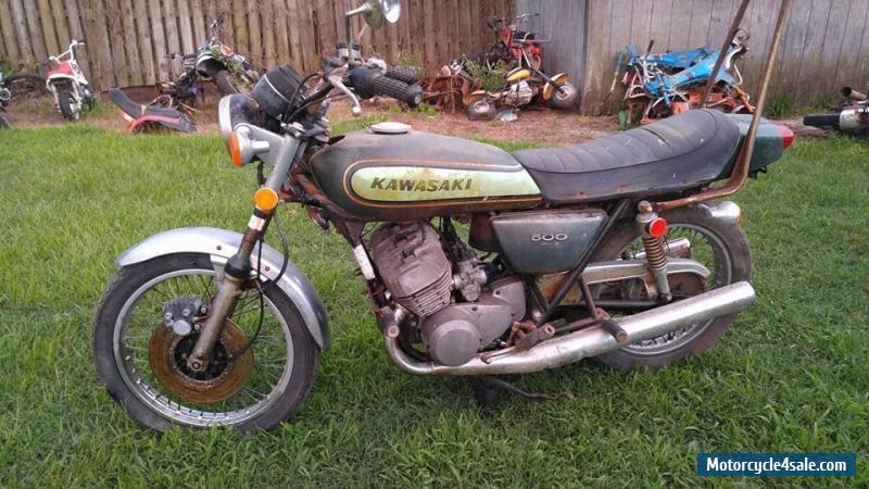 1974 Kawasaki H1 MACH III 500 for Sale in Canada