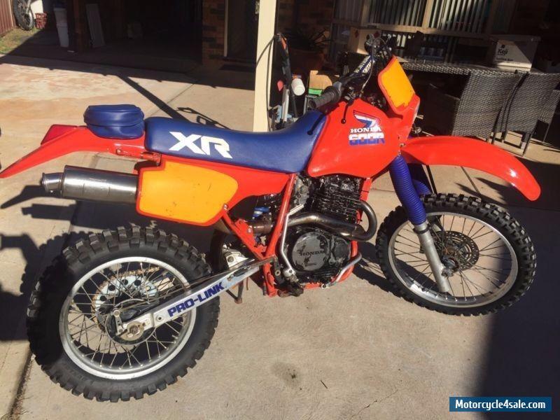 Honda xr600r for sale in australia for Hondas for sale