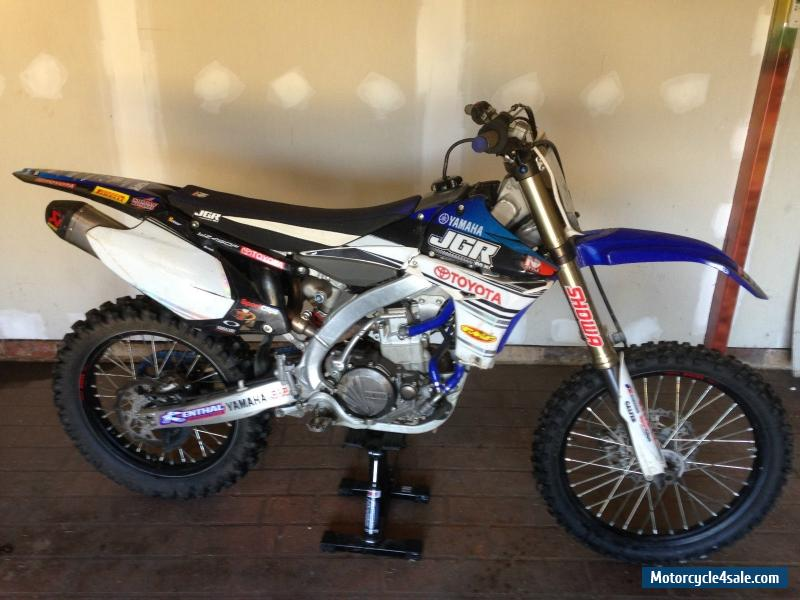 yamaha yz450f for sale in australia. Black Bedroom Furniture Sets. Home Design Ideas