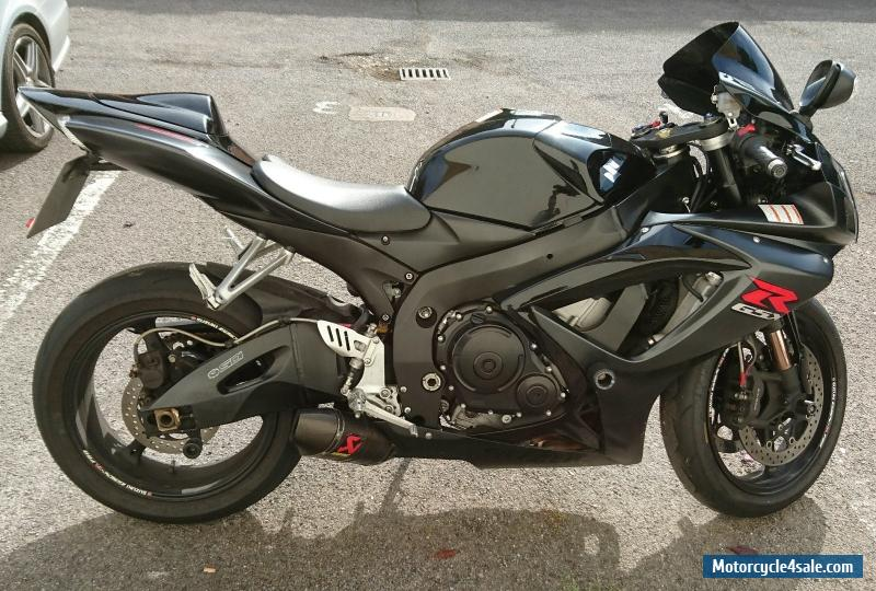 2007 suzuki gsxr 750 k7 for sale in united kingdom. Black Bedroom Furniture Sets. Home Design Ideas