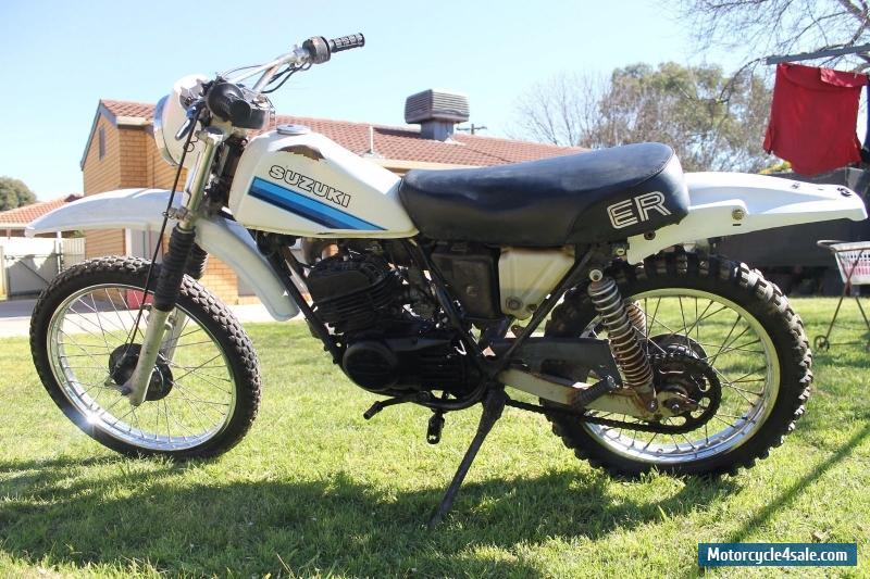 Suzuki TS185ER for Sale in Australia