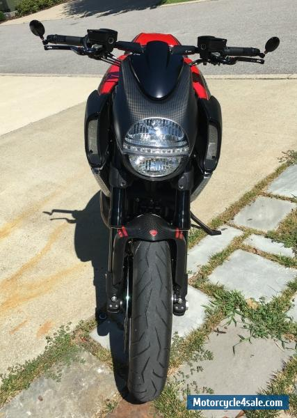 2013 Ducati Diavel Carbon Red For Sale In Canada
