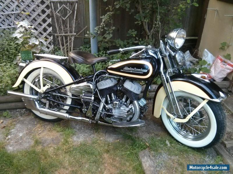 1947 harley davidson flathead for sale in united states. Black Bedroom Furniture Sets. Home Design Ideas