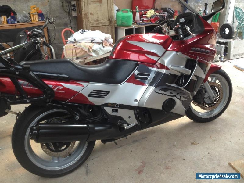 1998 honda cbr 1000 f for sale in united kingdom. Black Bedroom Furniture Sets. Home Design Ideas