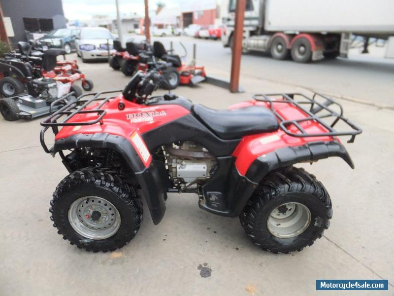 honda trx 350 for sale in australia. Black Bedroom Furniture Sets. Home Design Ideas