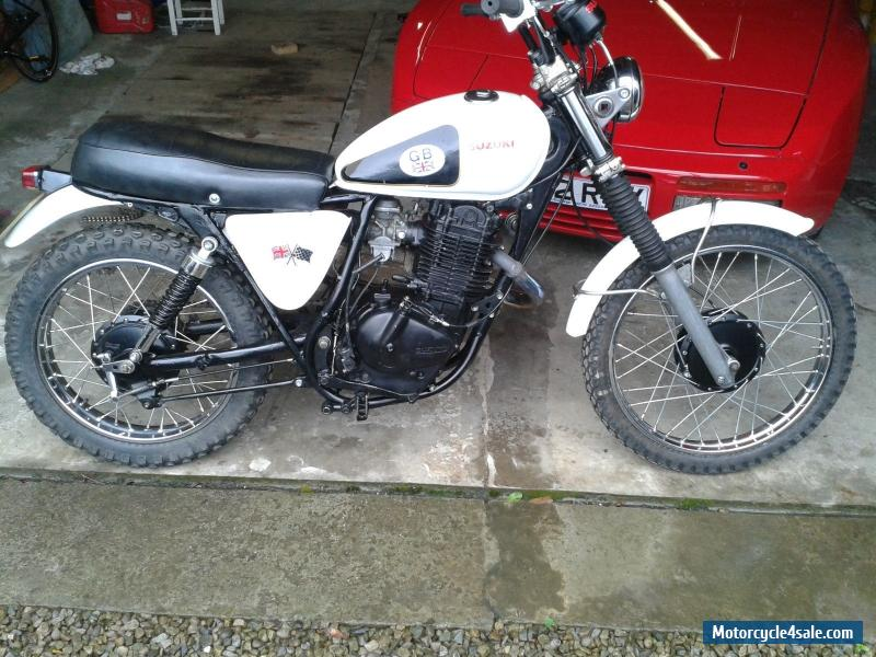 1979 suzuki sp370 for sale in united kingdom. Black Bedroom Furniture Sets. Home Design Ideas