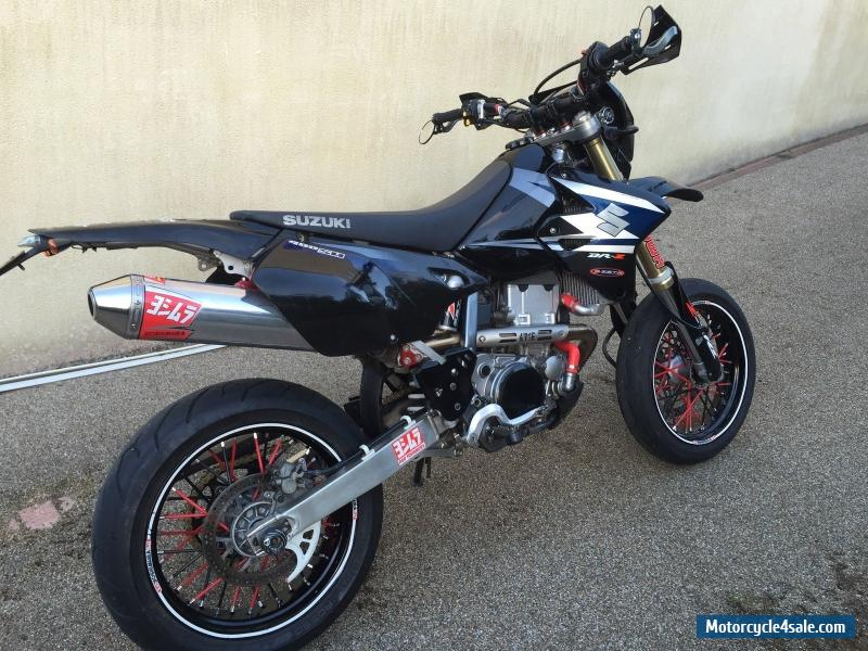 2006 suzuki drz 400 sm k5 for sale in united kingdom. Black Bedroom Furniture Sets. Home Design Ideas