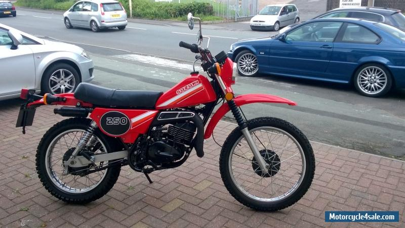 1980 suzuki ts 250 er for sale in united kingdom