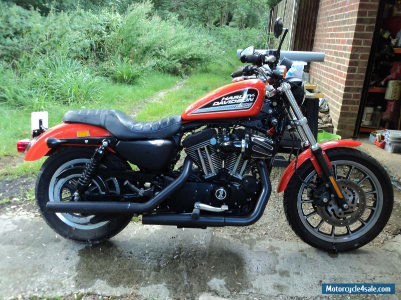 harley davidson sportster 1200r for sale in united kingdom. Black Bedroom Furniture Sets. Home Design Ideas