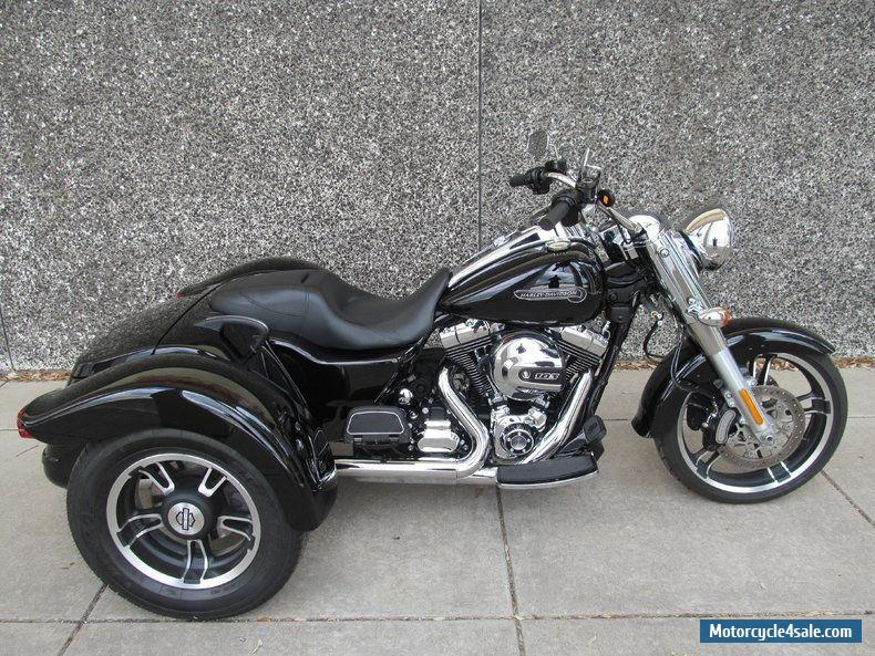 2016 harley davidson freewheeler trike for sale in canada. Black Bedroom Furniture Sets. Home Design Ideas