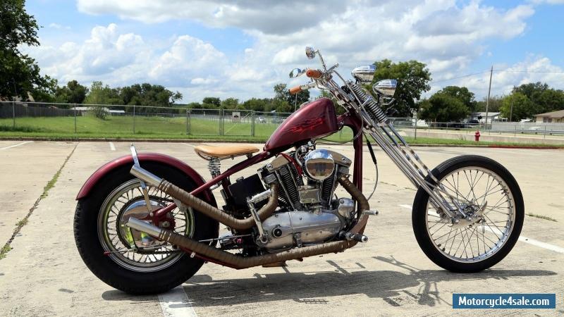 1967 Harley-davidson Sportster for Sale in Canada