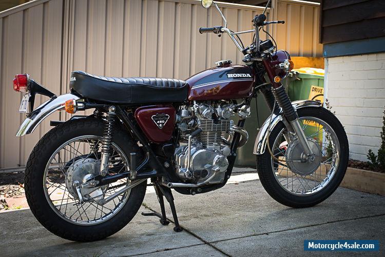 Honda Cl450 For Sale In Australia