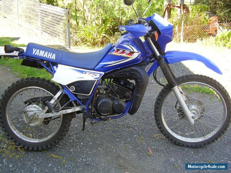 yamaha dt175a super trail for sale in australia