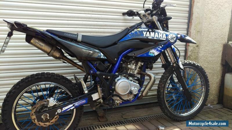 2014 yamaha wr 125 r for sale in united kingdom. Black Bedroom Furniture Sets. Home Design Ideas