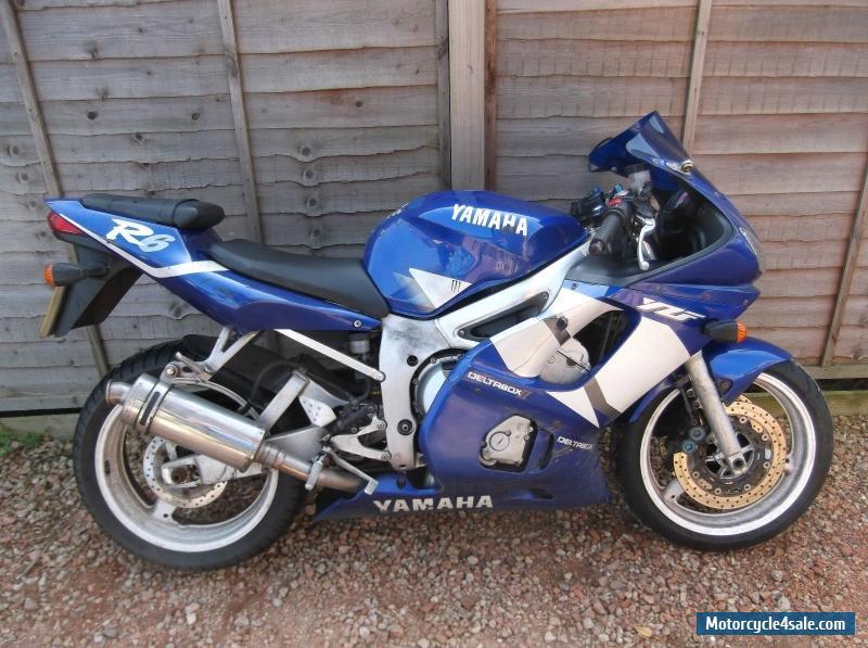 2001 yamaha yzf r6 for sale in united kingdom