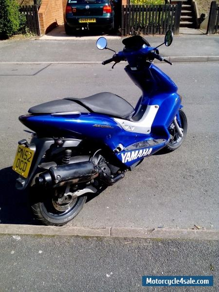 yamaha maxter 125 scooter for sale in united kingdom. Black Bedroom Furniture Sets. Home Design Ideas