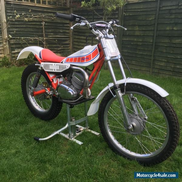 1980 yamaha ty 175 majesty for sale in united kingdom. Black Bedroom Furniture Sets. Home Design Ideas