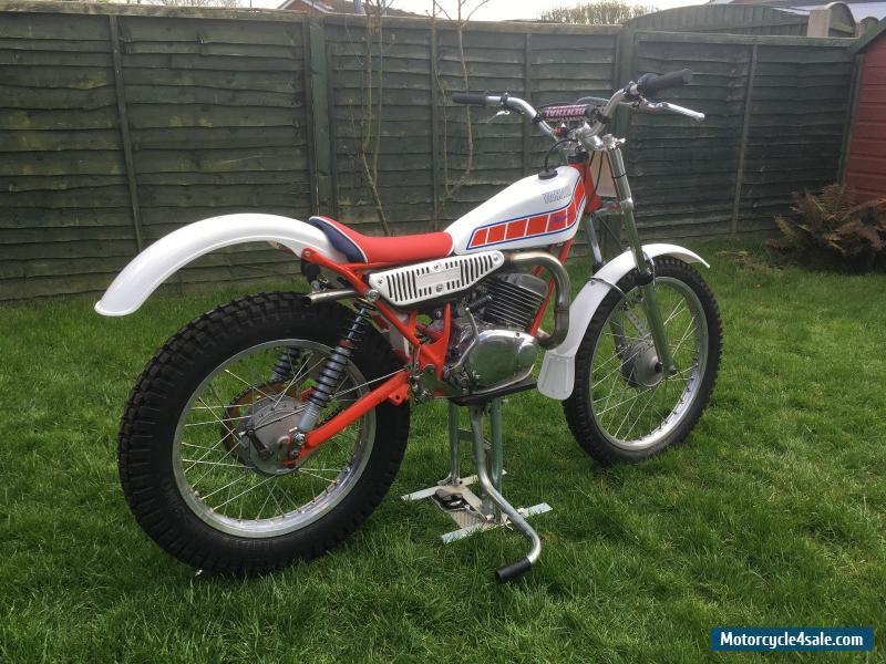 1980 yamaha ty 175 majesty for sale in united kingdom for Yamaha trials bike
