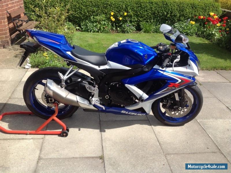 2009 suzuki gsx r 750 k8 for sale in united kingdom. Black Bedroom Furniture Sets. Home Design Ideas