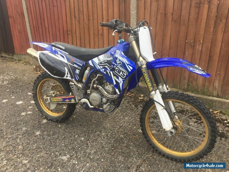 2004 yamaha wr250f for sale in united kingdom. Black Bedroom Furniture Sets. Home Design Ideas