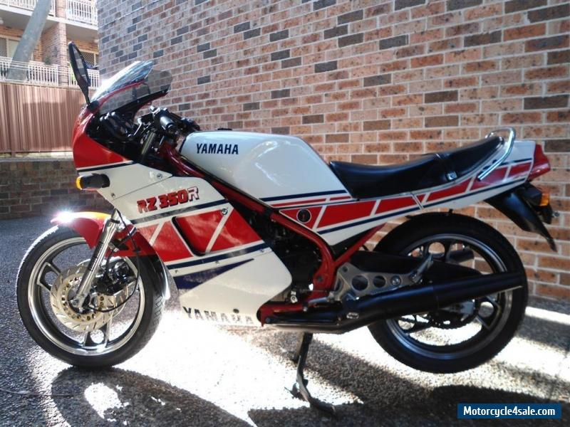 Yamaha rz 350 for sale in australia for Yamaha rz for sale