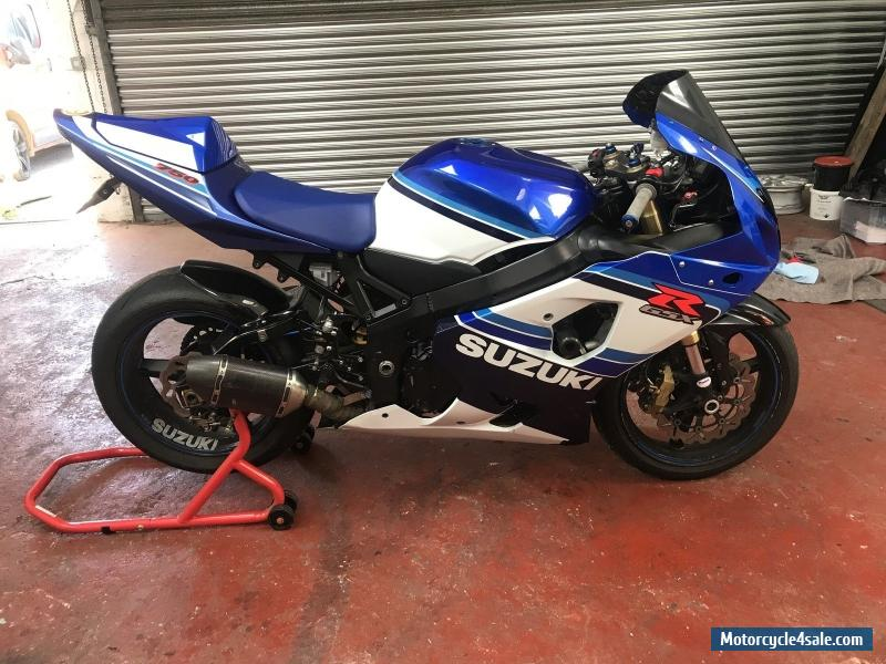 2006 suzuki gsxr 750 xk5 for sale in united kingdom. Black Bedroom Furniture Sets. Home Design Ideas