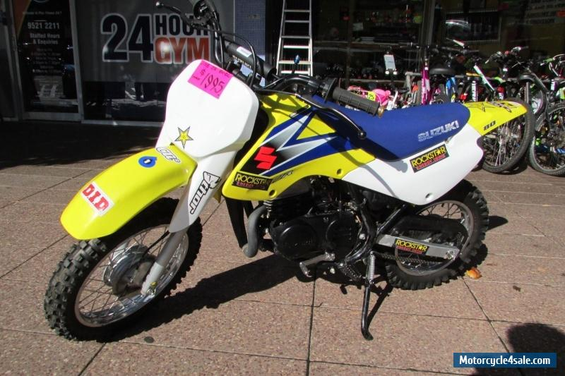 Suzuki Jr 80cc Motorbike Thumpster 2015 Great Condition Dirtbike For Sale