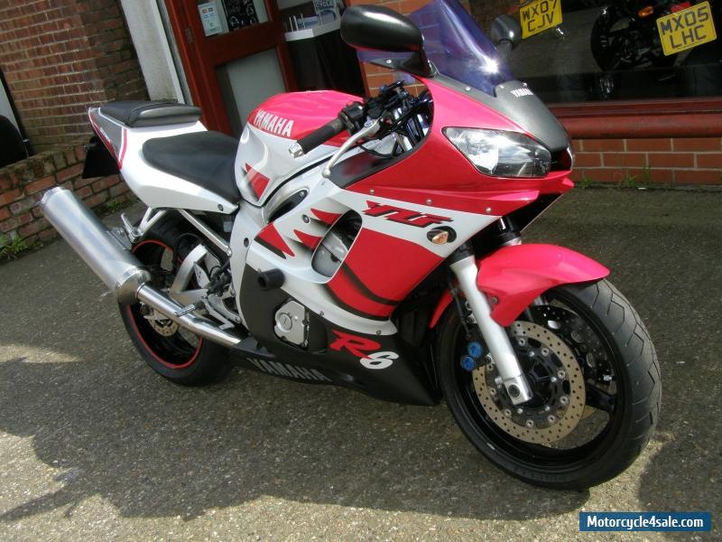 Yamaha yzf600 r6 for sale in united kingdom for Yamaha r6 600 for sale