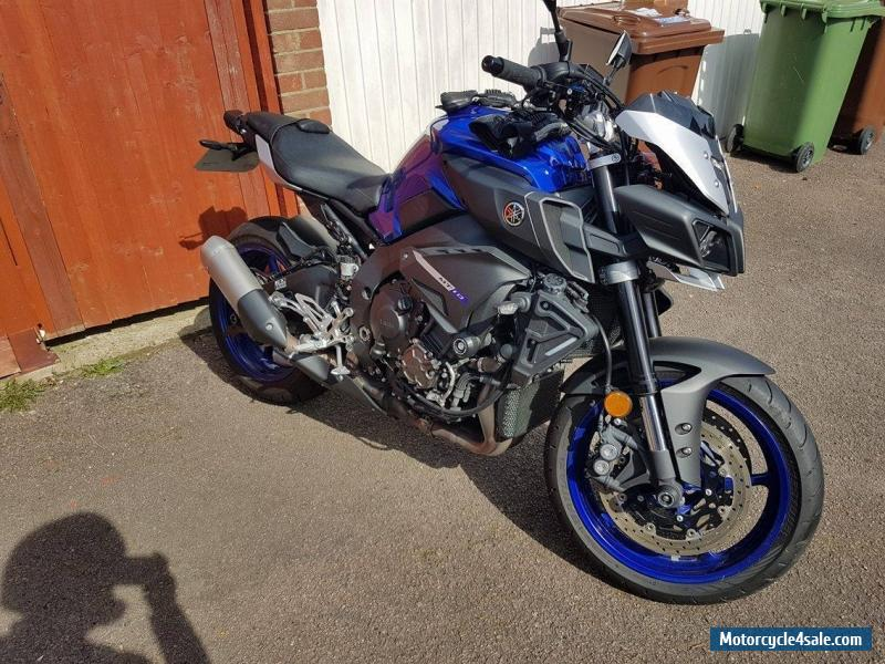 2016 Yamaha MT10 for Sale in United Kingdom