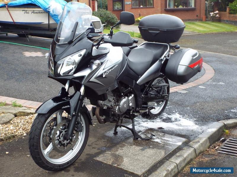 2010 suzuki v strom 650 for sale in united kingdom. Black Bedroom Furniture Sets. Home Design Ideas