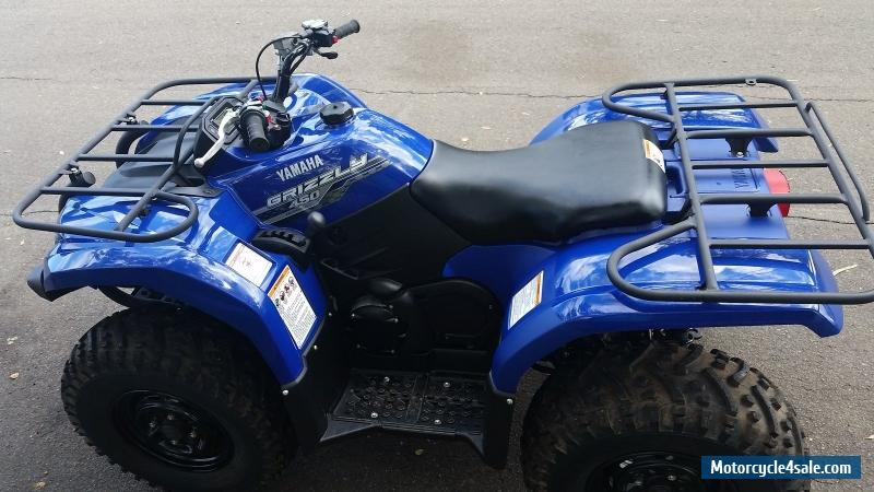 Yamaha yfm450fap for sale in australia for Yamaha grizzly 450 for sale