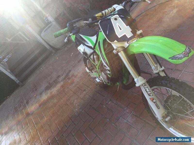Kawasaki Kxmotorcycle For Sale