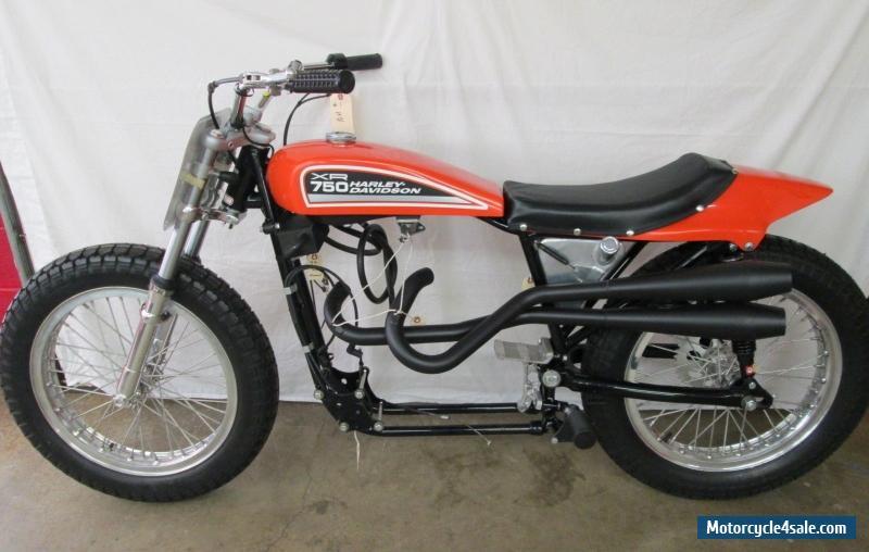 The Harley Davidson Xr 750: 1972 Harley-davidson XR-750 Dirt Track For Sale In United