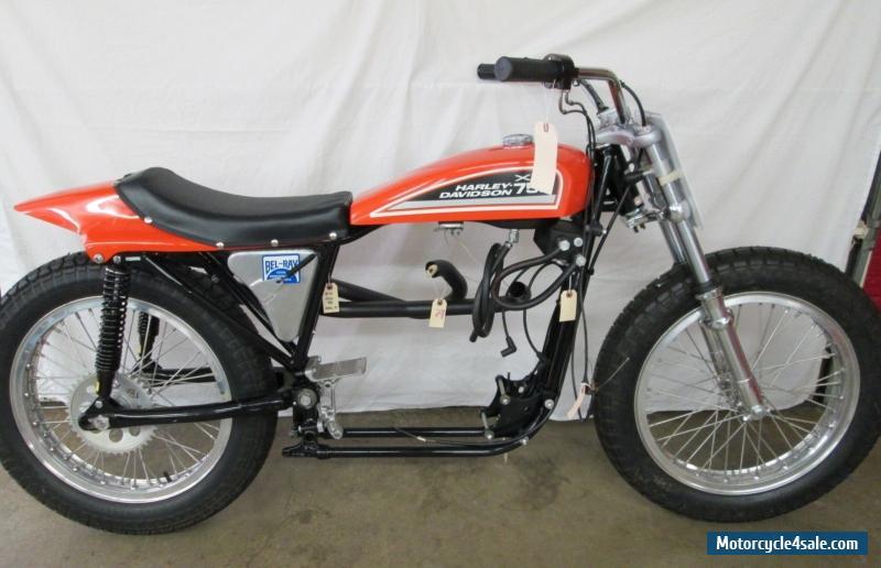 Harley Davidson: 1972 Harley-davidson XR-750 Dirt Track For Sale In United