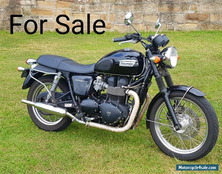 triumph bonneville t100 865cc for sale in australia. Black Bedroom Furniture Sets. Home Design Ideas