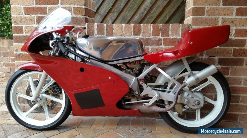 RS125 Honda GP bike Period 6 Log Booked
