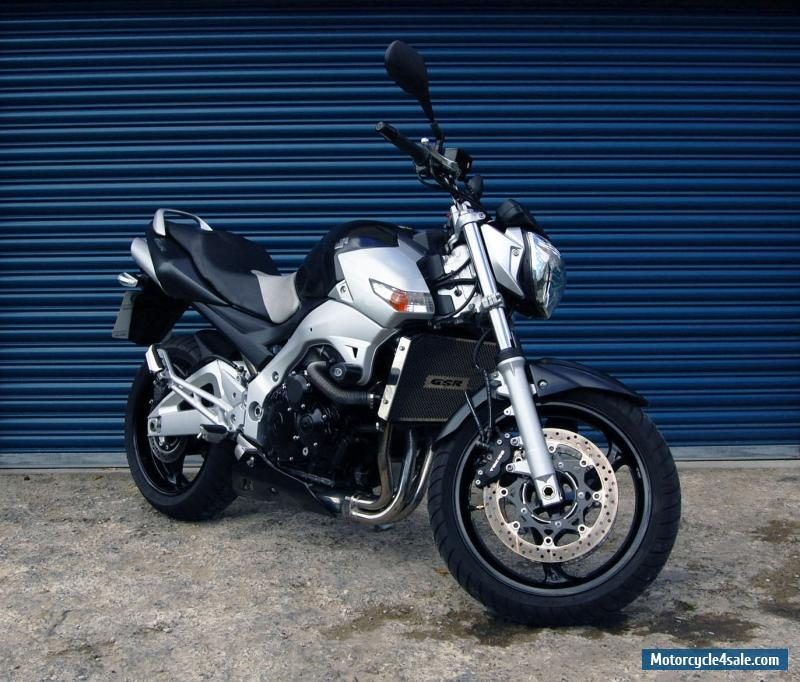 2006 suzuki gsr 600 for sale in united kingdom. Black Bedroom Furniture Sets. Home Design Ideas