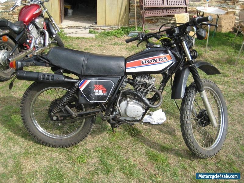 1979 honda xl 125s for sale in united kingdom. Black Bedroom Furniture Sets. Home Design Ideas