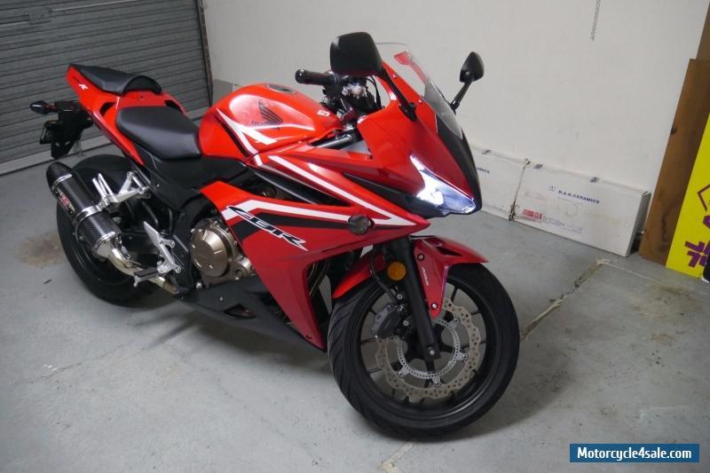 Honda Cbr500ra For Sale In Australia