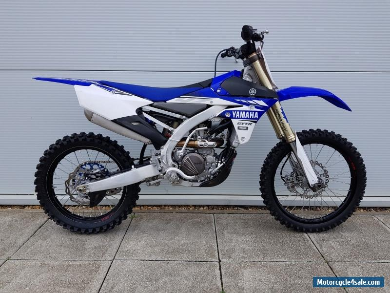 2017 yamaha yzf 250 for sale in united kingdom