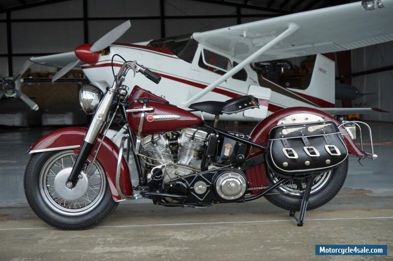 Harley Davidson: 1949 Harley-davidson EL Panhead For Sale In United States